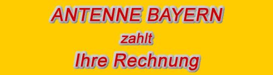 Antenne Bayern Rechnungen